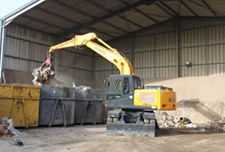 Skip Hire in Brentwood transfer station